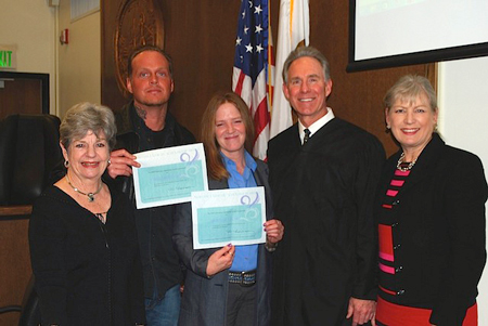 Assistance League of Laguna Beach grant to Collaborative Court Drug Court provided scholarships for participants