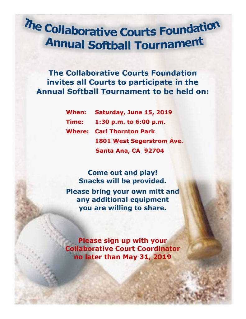 Annual Softball Tournament Flyer